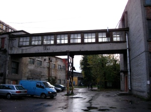 Disused Bridge over main courtyard, Telliskivi